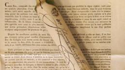 Napoléon Bonaparte utilisait chaque jour environ 3 flacons de cette Eau de Cologne qui contenait environ 75 ml de fragrance.
