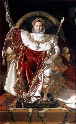 Napoléon en habit de sacre