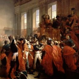 Bouchot, le general Bonaparte au Conseil des Cinq Cents