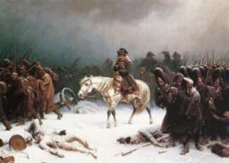 Le retraite de Napoléon depuis Moscou