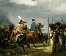 Napoléon et Murat à Iéna