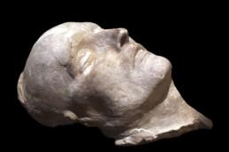 Masque mortuaire de Napoléon, Musée de l'Armée, Paris