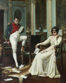 The first meeting between Napoleon and Joséphine took place on October 15, 1795, during a dinner given at the mansion of Paul de Barras (1755 - 1829)