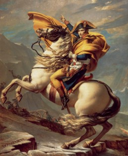 Portrait of Napoleon Bonaparte by Jacques-Louis DAVID (1748 - 1825)