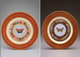 assiette-napoleon-josephine-empire-porcelaine-sevres-malmaison