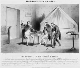 Napoléon à l'île Sainte Hélène :