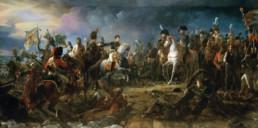 François Gérard, La bataille d'Austerlitz le 2 décembre 1815. Huile sur toile conservée qu Musée de Trianon.