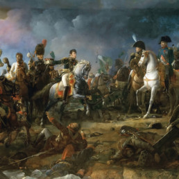 François Gérard, The battle of Austerlitz on December 2nd, 1815. Oil on canvas preserved at the Musée de Trianon.