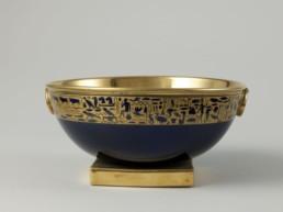 Bol à punch du Cabaret à thé de Joséphine avec décor égyptien © RMN-Grand Palais (musée des châteaux de Malmaison et de Bois-Préau)
