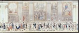 Cortège nuptial de Napoléon Ier et de Marie-Louis d'Autriche. ZIX Benjamin (1772 - 1811) © RMN-Grand Palais (musée du Louvre) / Gérard Blot