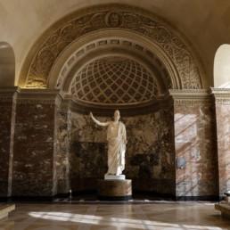 Pallas de Velletri Marbre de Carrare, Ier siècle de notre ère © France Info