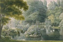 Garneray Auguste (1785-1824). Rueil-Malmaison, Malmaison and Bois-Préau châteaux. MM40.47.7155.
