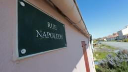 Plaque de la rue Napoléon à l'île d'Aix © Sud Ouest